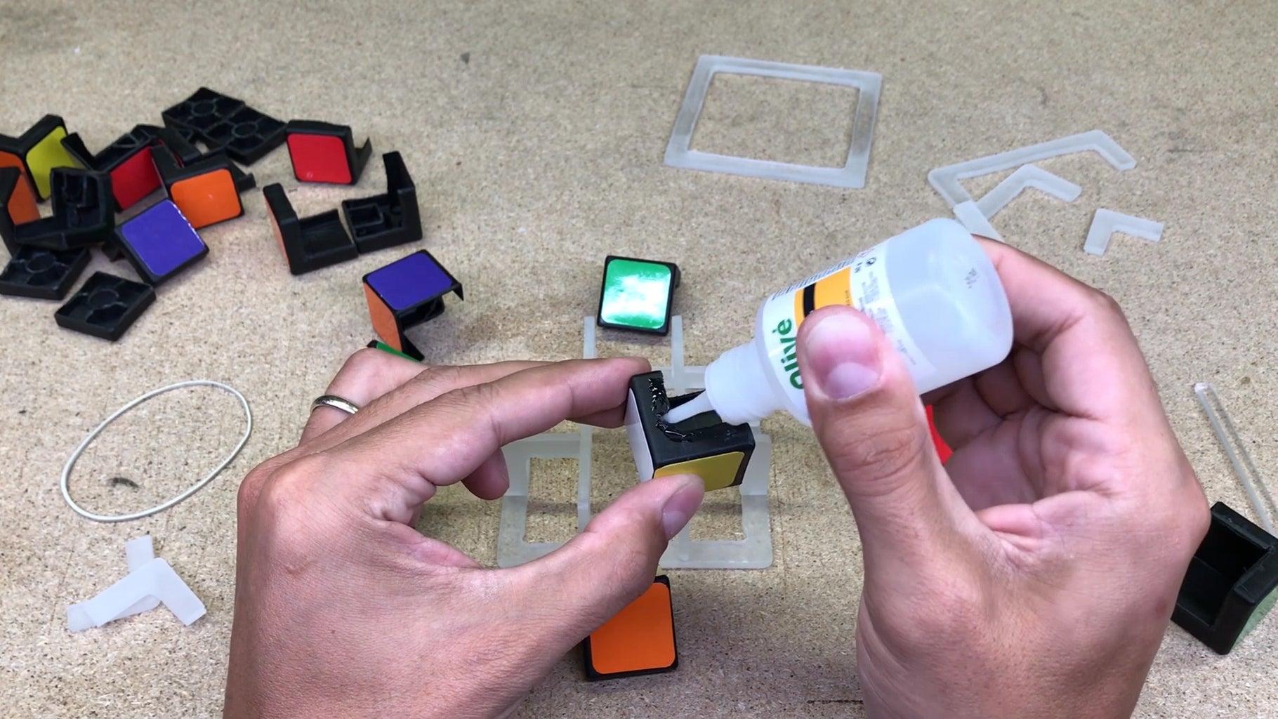 Assembling Small Cubes