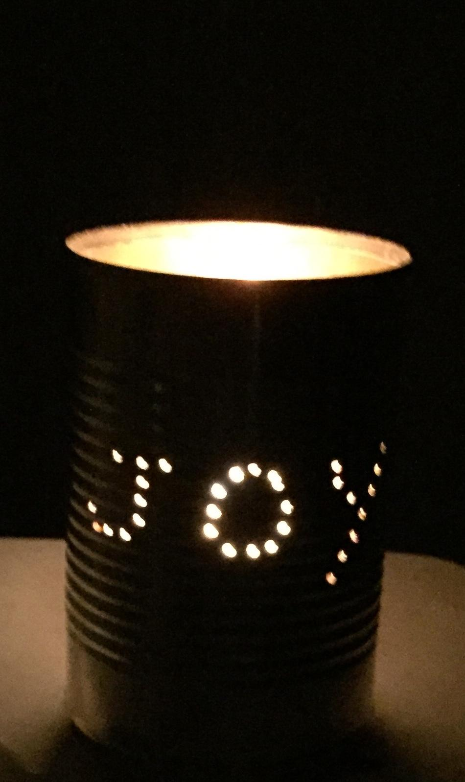 Simple Tin Can Decoration
