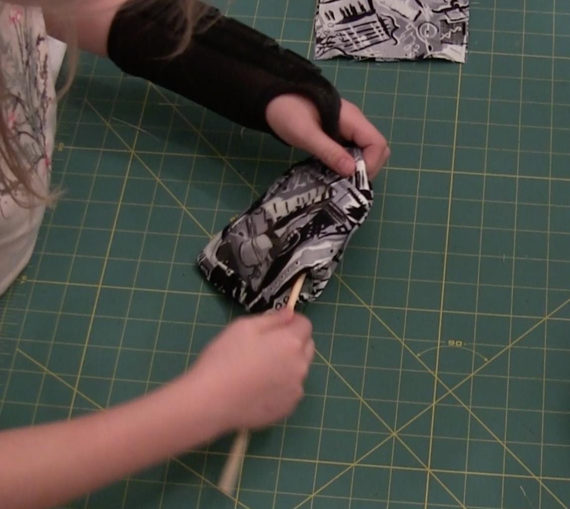 Sew Tag Piece #1: Back/Window Pocket Piece