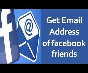 Get the Email Address of Your Facebook Friends!!