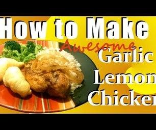 Awesome Garlic Lemon Chicken