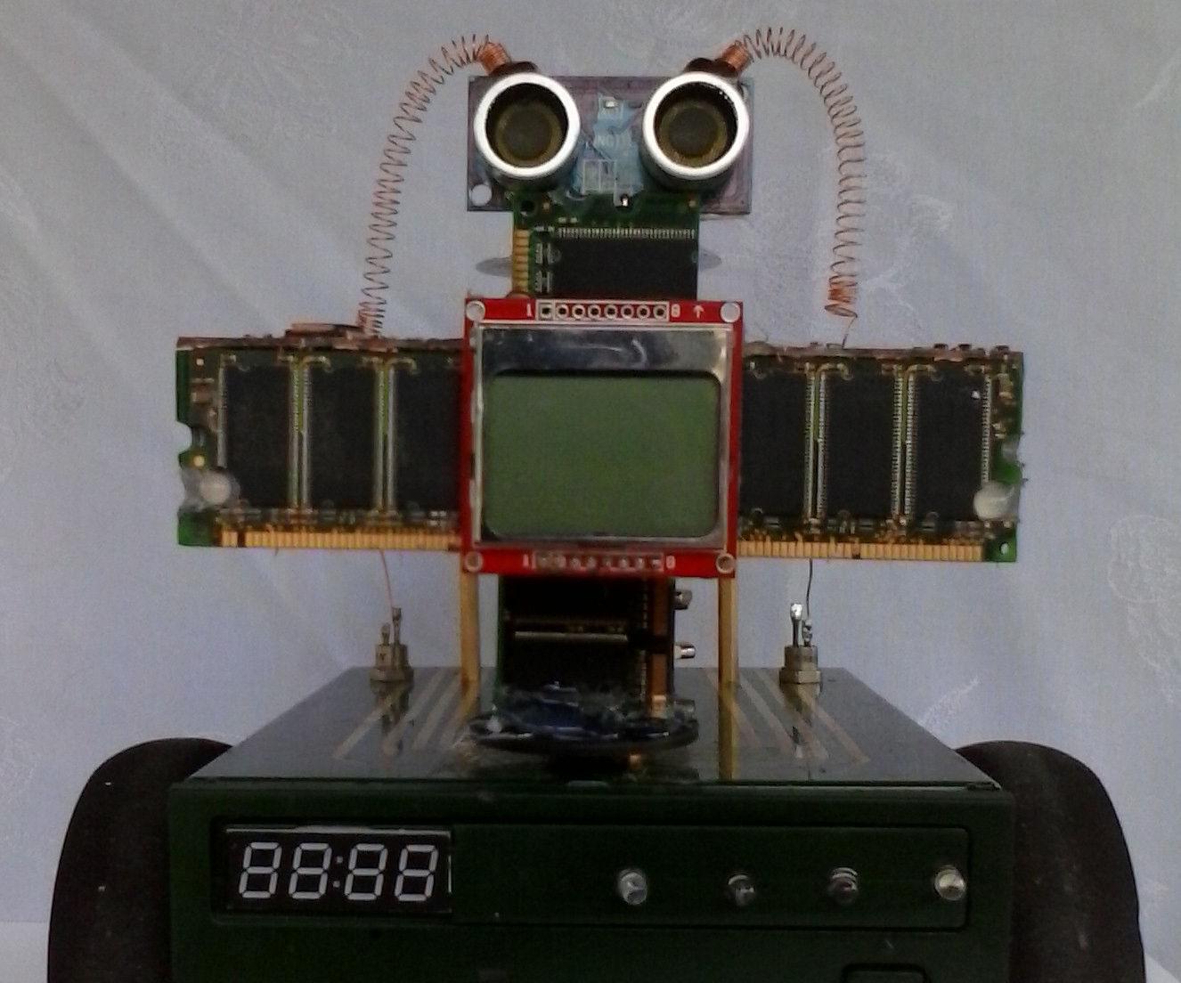 Arduino V-Twin Flux Capacitor