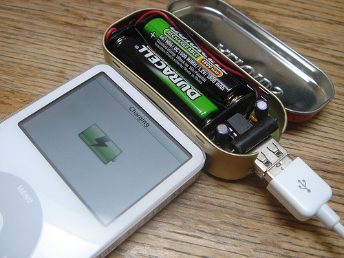 MintyBoost! - Small battery-powered USB charger