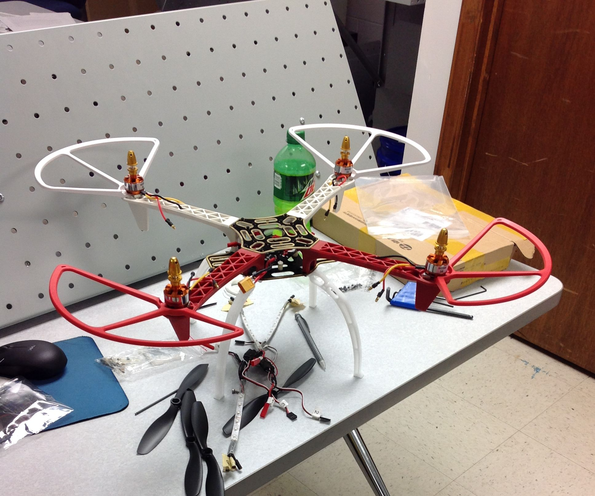Quad Copter Rebuild - A Class Project