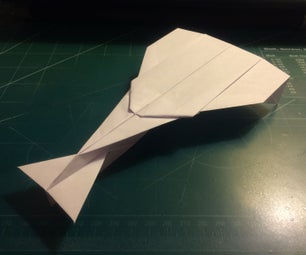 How to Make the Hunter Paper Airplane