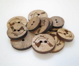 Laser-Cut Buttons