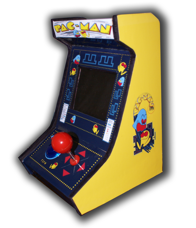 My mini bartop arcade machine (pacman)