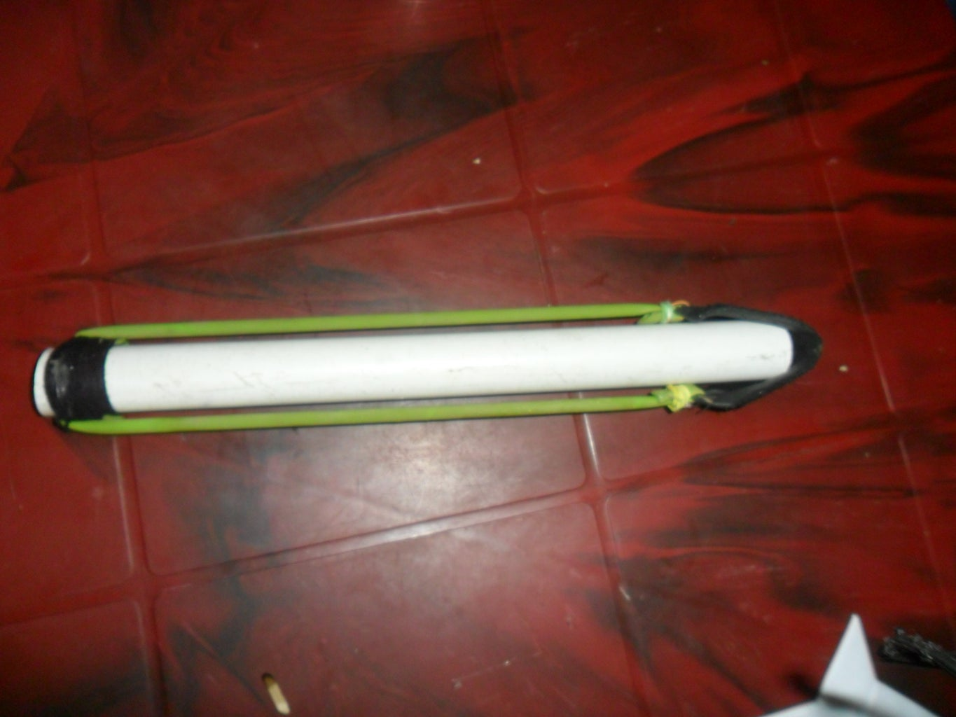 Survival Spear Shooter Made With Pvc and Rubber