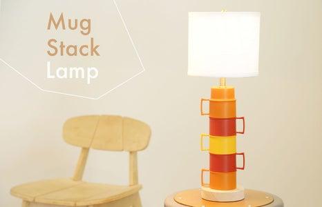 Mug Stack Lamp