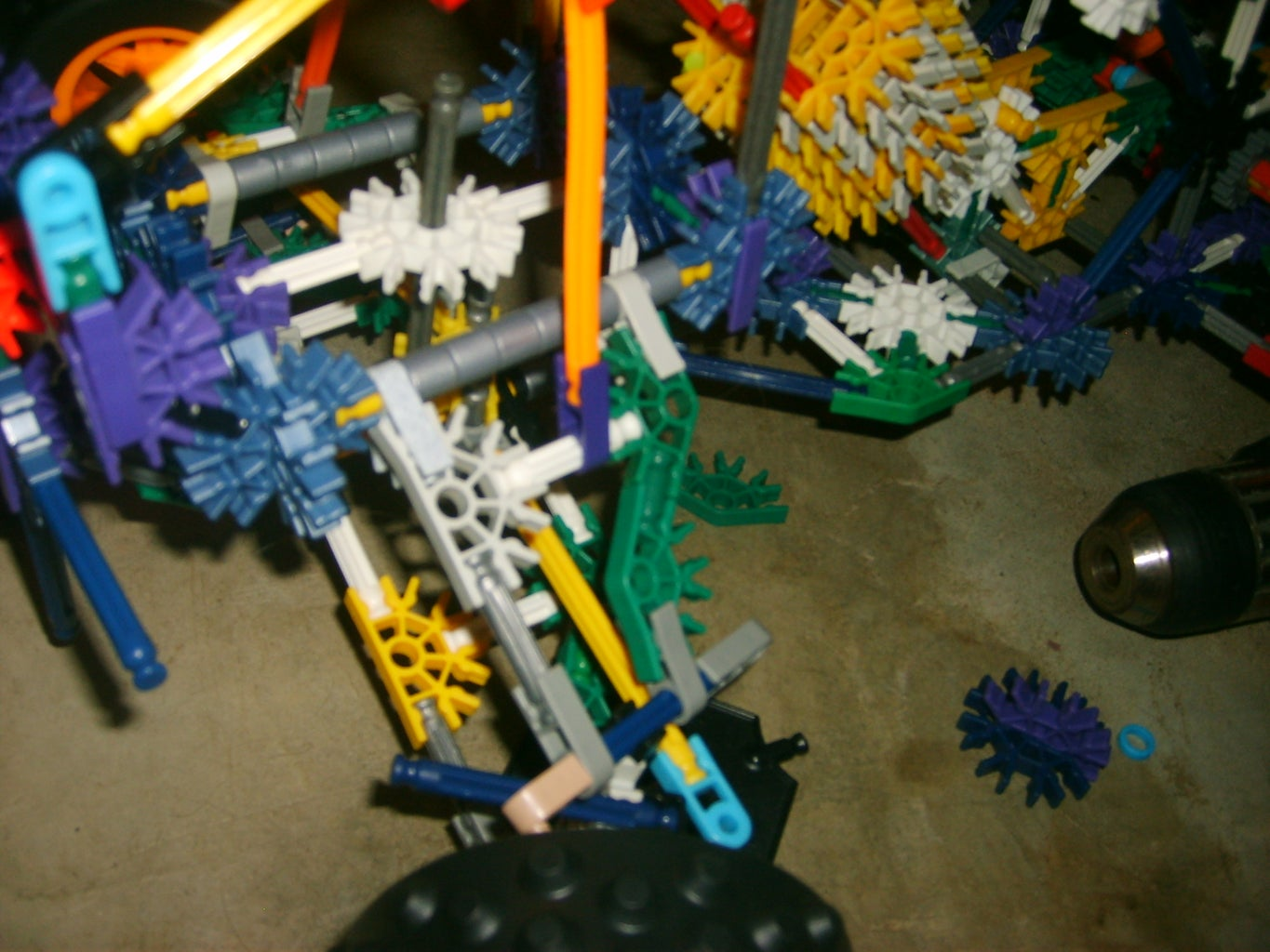 In Progress Pictures of My Knex Atv for Knexfreeks Contest