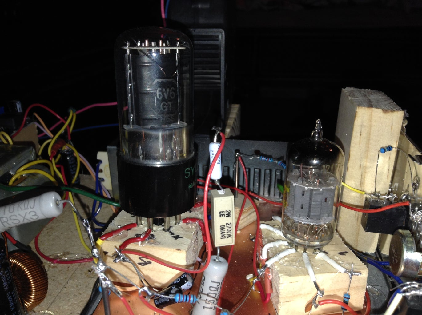 Soldering the Audio Circuit