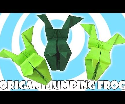 Easy Origami Jumping Frog