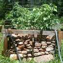 Raised Bed Garden From Old Pallets