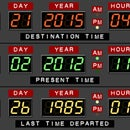 Back to the Future Desk Calendar