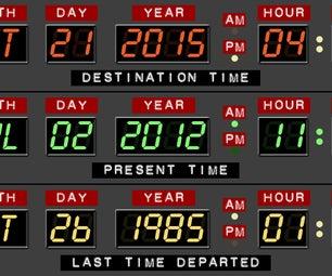 Back to the Future Desk Calendar