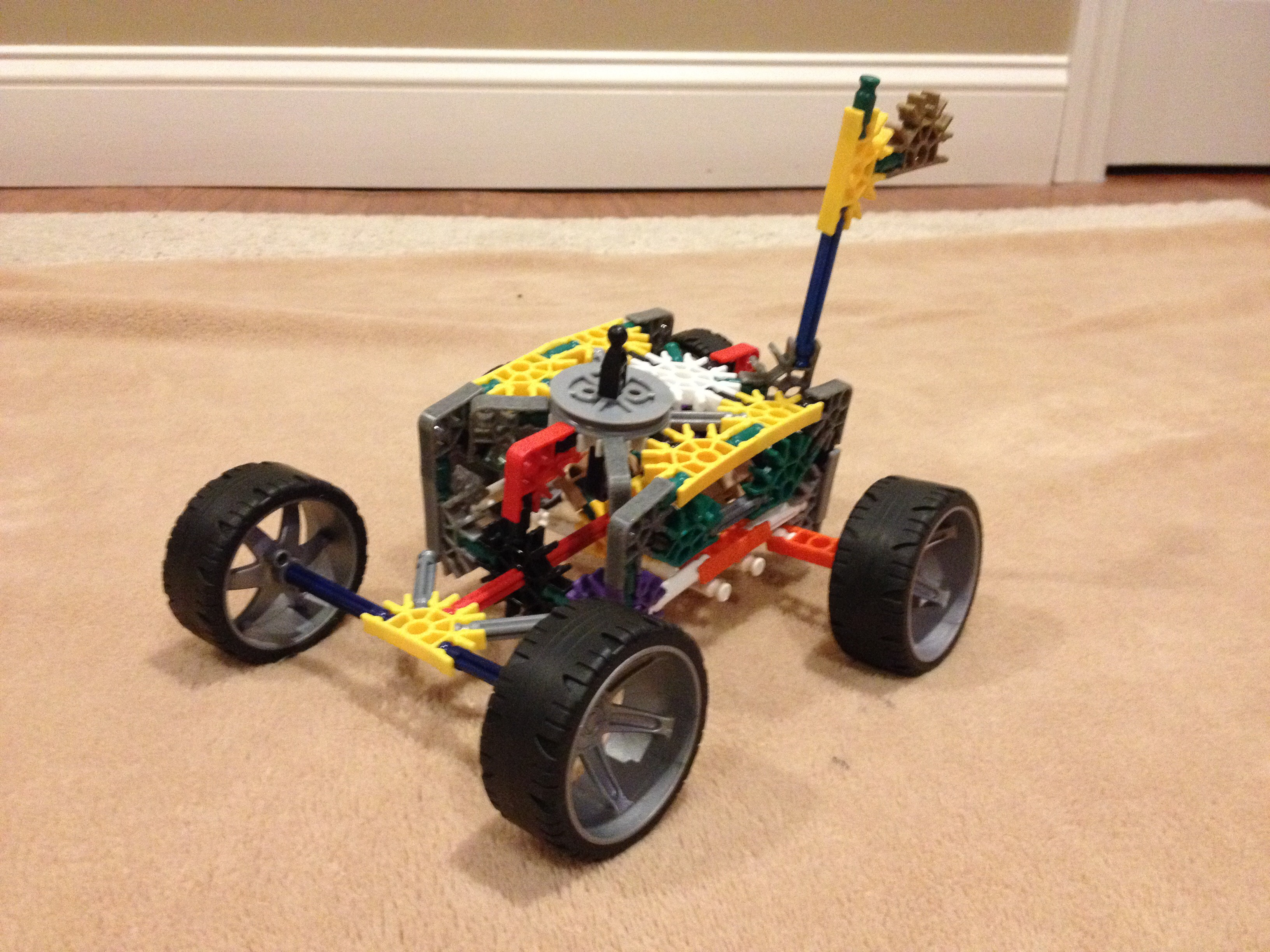 KNEX Dune Buggy With Suspension