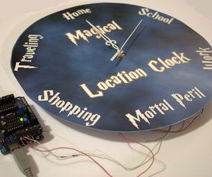 Magical Location Clock