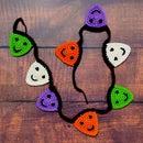 Halloween Applique Bunting Crochet Garland