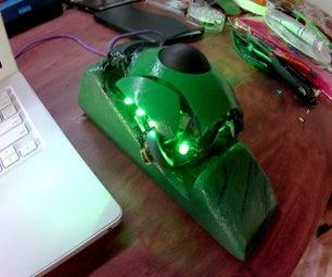 终极绿色DIY轨迹球鼠标从垃圾