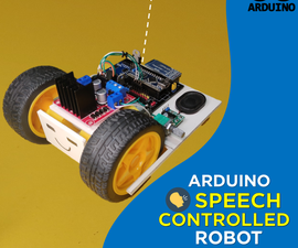 Speech Controlled Robot (Easy Version)