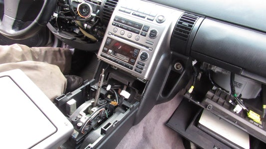 Disassemble the Dashboard