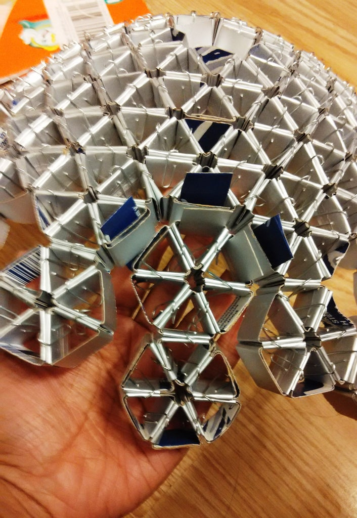 Forming the Hemispheres With the Help of Hexagons