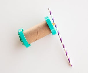 Simple Rubber Band Car With Cardboard Tube STEAM Activity