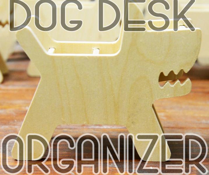Dog Desk Organizer