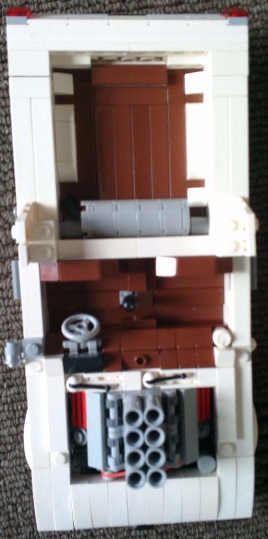 Lego Holden HQ Ute