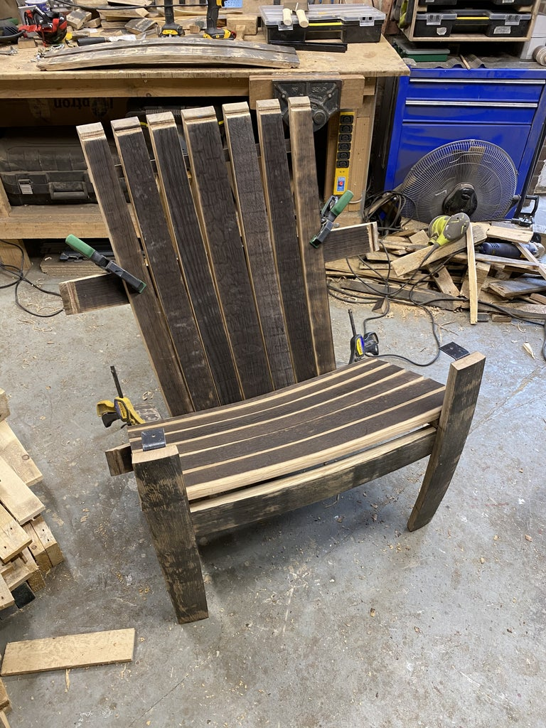 Adding Back and Arm Rests