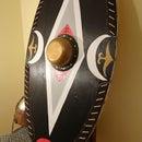 European Shield. Dacian Shield.How to Make a Wooden Shield Easily?
