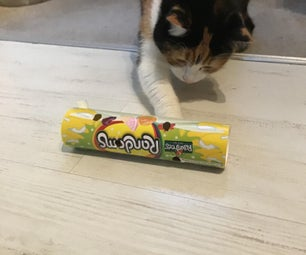 Easy Recycled Cat Treat Toy