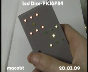 Led Dice-PIC16F84 in Box