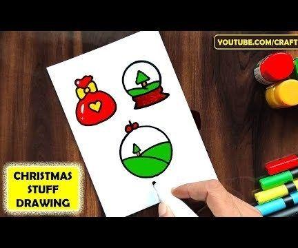 CHRISTMAS STUFF DRAWING