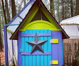 No Carpentry Experience Needed: Plywood Chicken Coop
