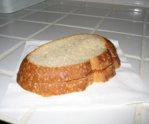 How to Make a Toasted PBJ