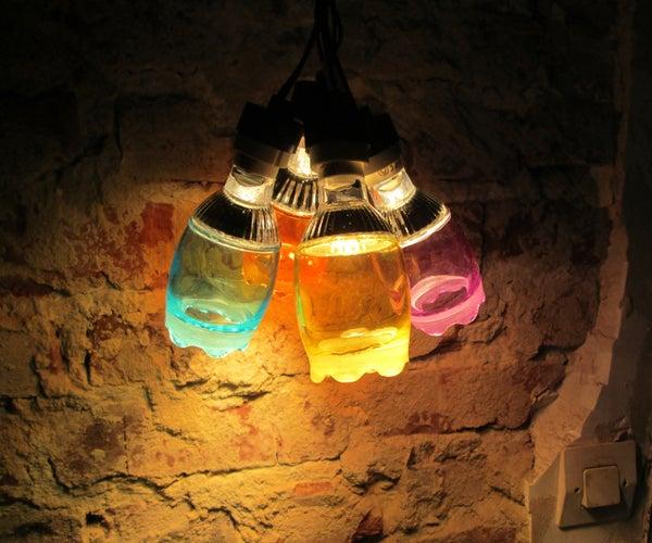 Shooter Glass Grape Lamp