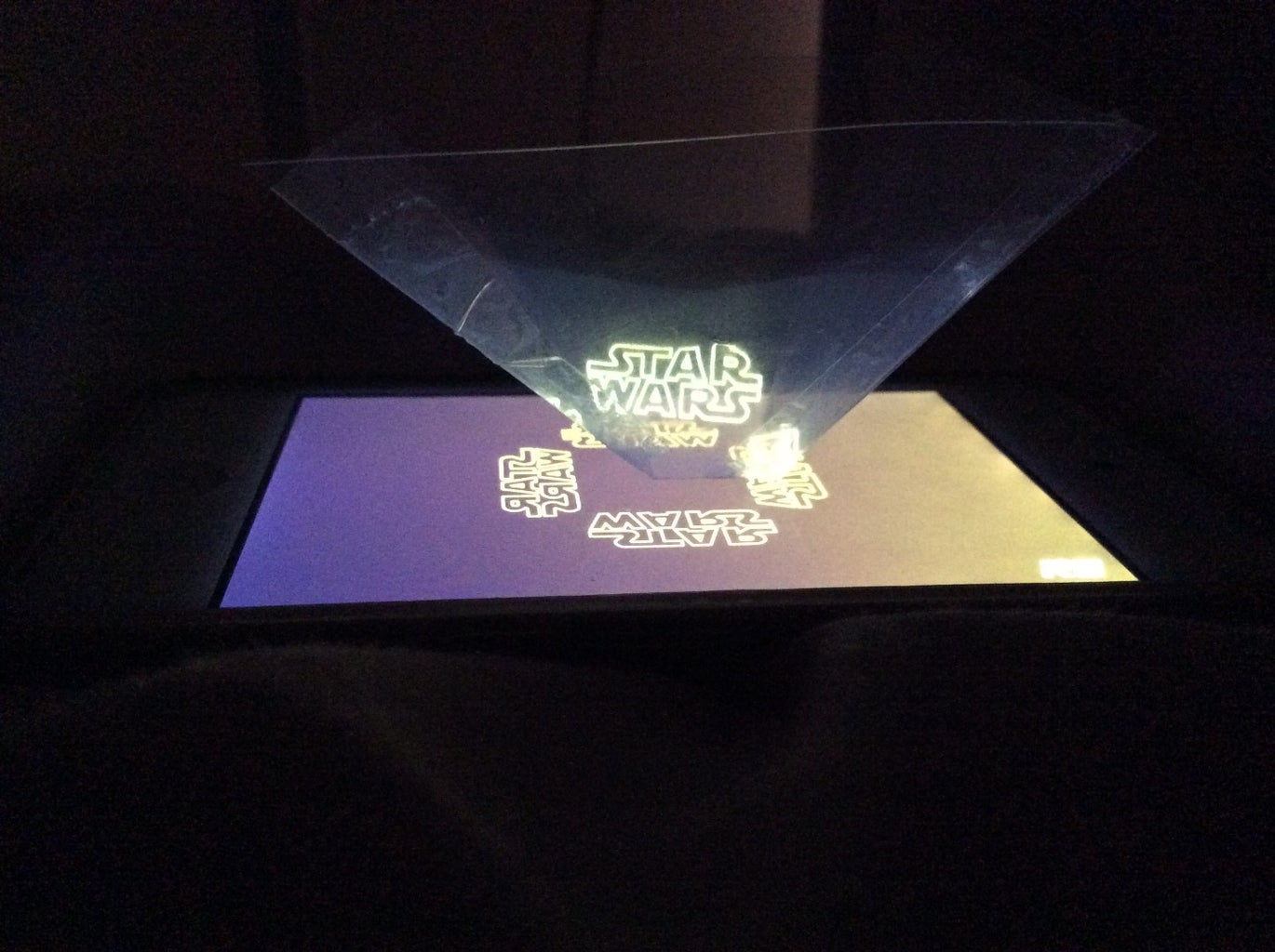 How to Make a Star Wars Hologram