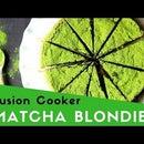 Gluten-Free Matcha Blondies