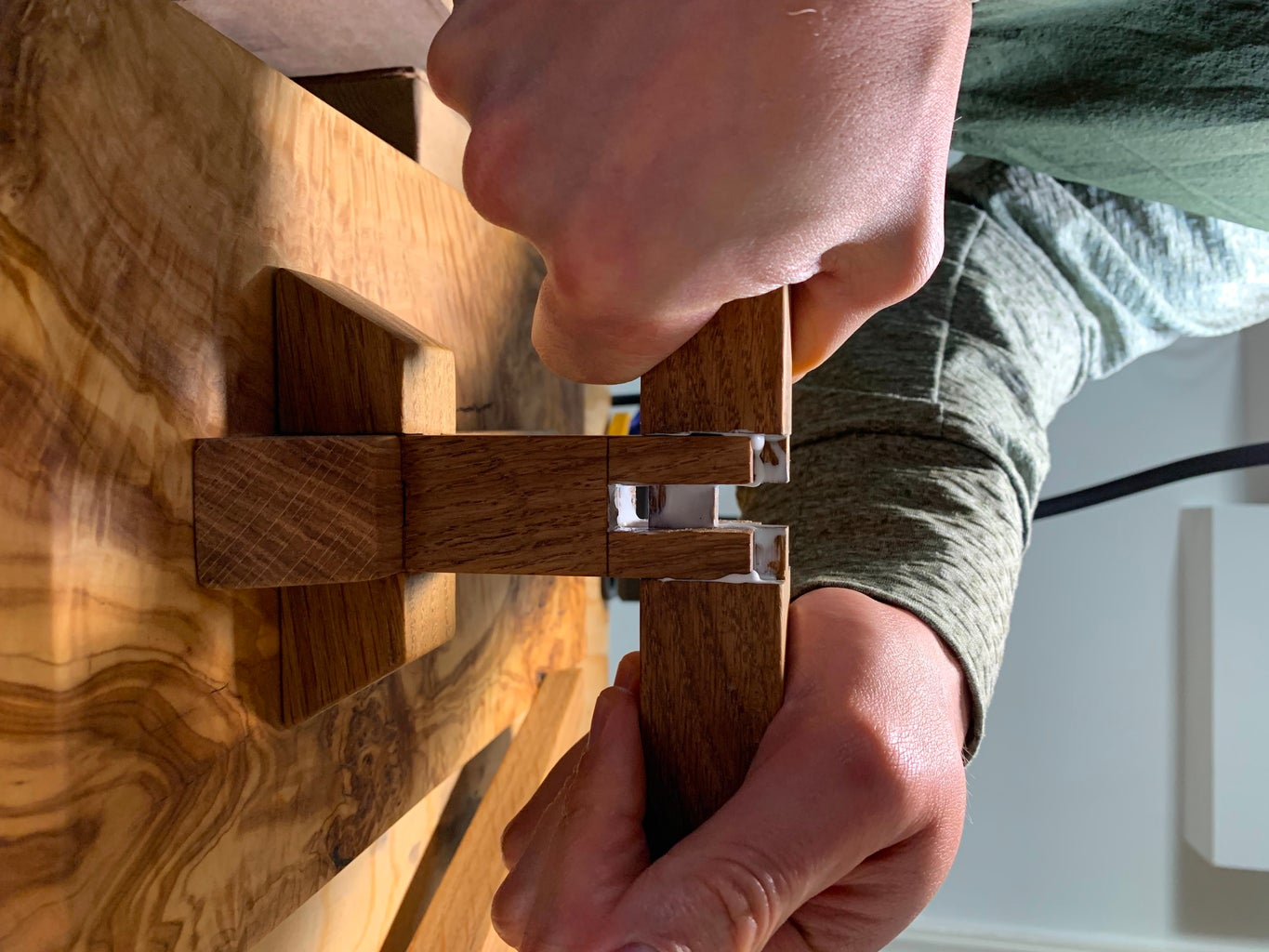 Glue Up and Sanding