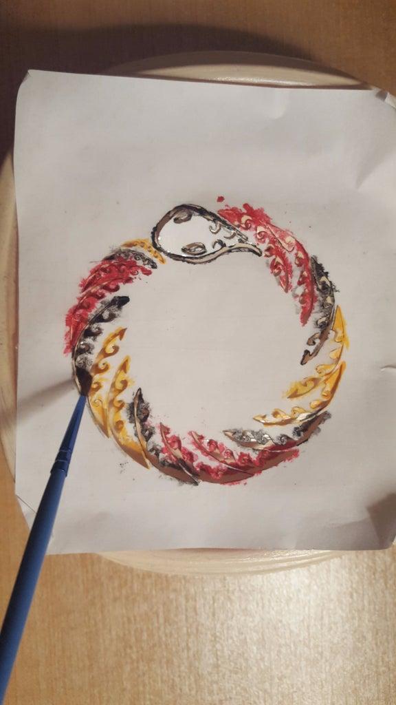 Add a Design With a Stencil