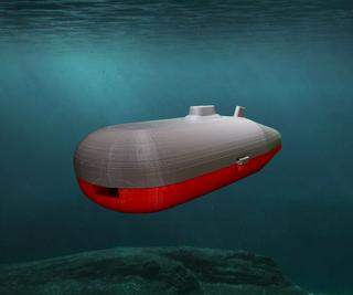 Magnet Powered Submarine
