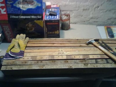 Building the Frame Jig From Old Pallets