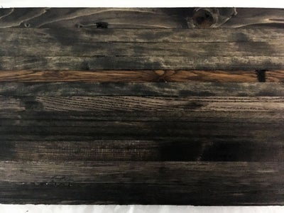 Sand and Stain the Wood