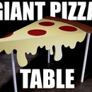 Giant Pizza Table