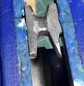 Getting the Horn of the Anvil to Shape