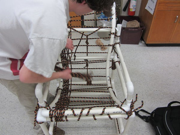 PVC Chair Assembly