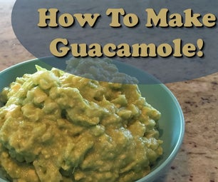 Easy 5 Ingredient Guacamole!