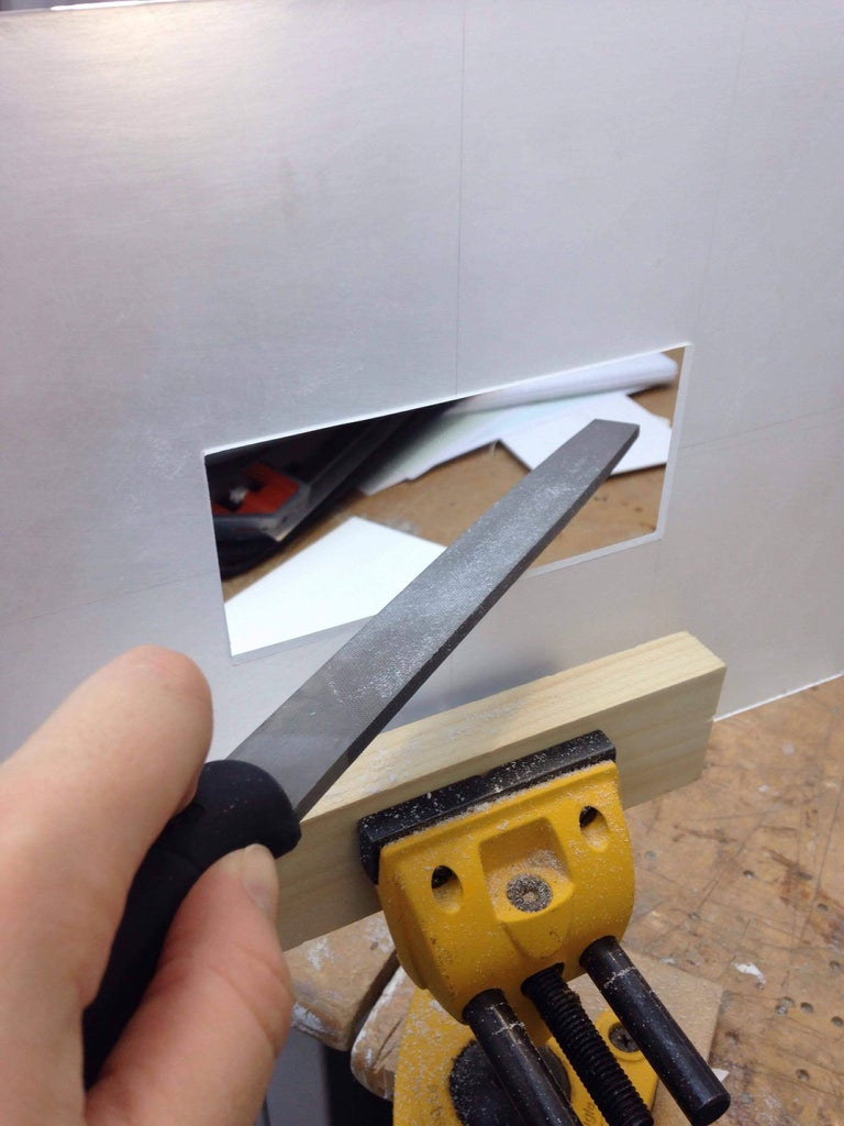Drilling, Filing and Sanding