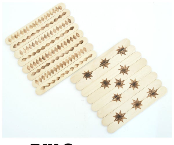 DIY Popsicle Stick Coasters